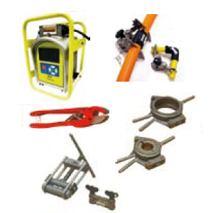 Machinery and accessories for electrofusion welding