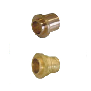 Brass fittings for nuts