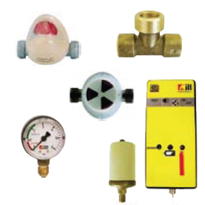 Control accessories for LPG collectors