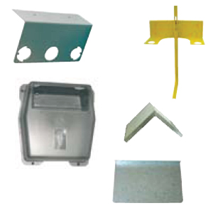 Meter supports and protective equipment