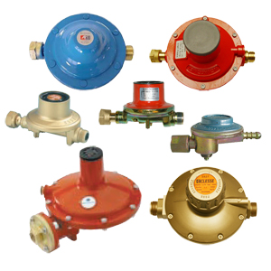 Low pressure, fixed ps LPG reducers