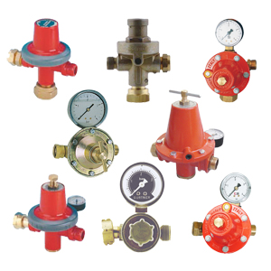 LPG regulators for fixed containers
