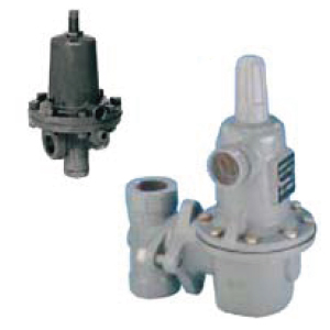 Fisher LPG regulators with safety device for large volumes
