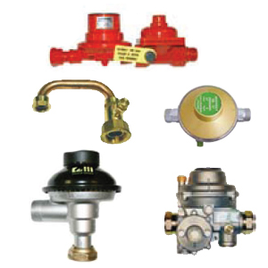Regulators and accessories for piped LPG