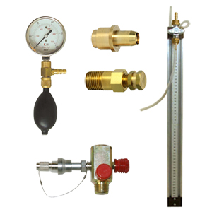 Pressure and leak test kits