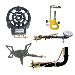 Burners and accessories