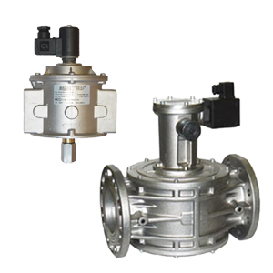 Manual reloading electrovalves normally open for NG and LPG