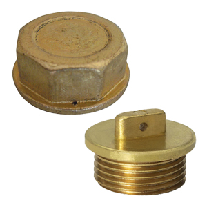 Cap nuts and sealable plugs