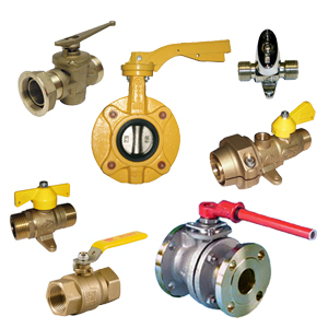 Valves for flammable gases