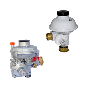 Natural Gas supply regulators with maximum and minimum security