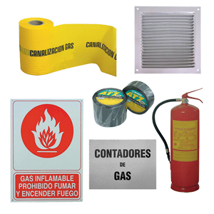 Protection, signage, ventilation and extinguishers