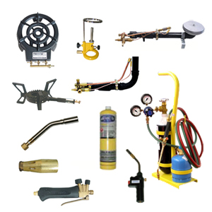 Burners and welding equipment
