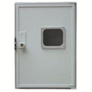 1-C POLYESTER CABINET WITH INSPECTION HOLE