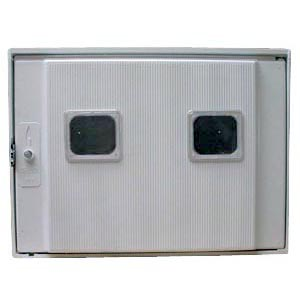 2-C POLYESTER CABINET WITH INSPECTION HOLE