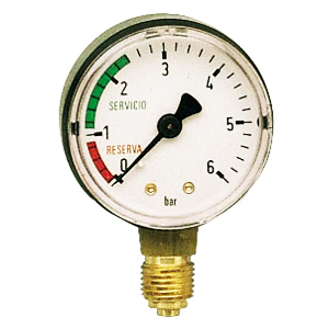"M1/4"" 6 bar I.S.R. MANOMETER"