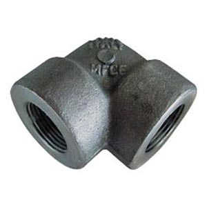 "1/2"" 90 ° ELBOW STEEL FORGED THREAD FEMALE"