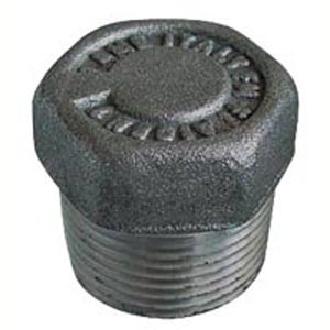 "M 1/2"" THREAD HEXAGONAL PLUG"