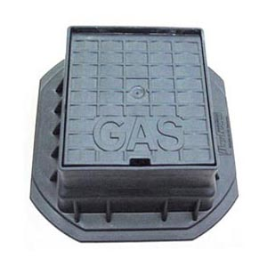POLYPROPYLENE GAS CAP AND FRAME