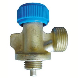 CAMPING BOTTLE VALVE WITH WHEEL