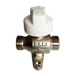 1/2 CHRAUME FAUCET WITH FLOW RESTRICTOR