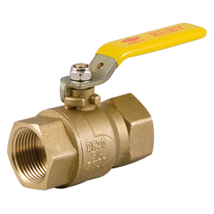 Upright or line valves lever female - female