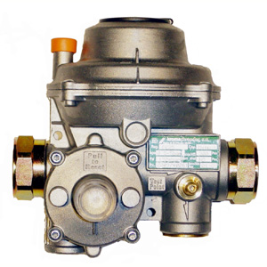 150mbar 30kg/h MAX. REGULATOR
