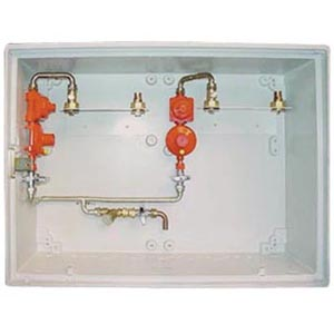 LPG 150mb 2-C Cu CABINET WITH INSPECTION HOLE