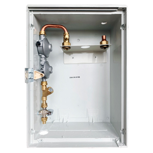 LPG 150mb 1-C Cu CABINET WITH INSPECTION HOLE