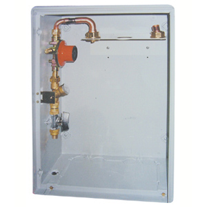 LPG 400 mbar 1-C Cu CABINET WITH INSPECTION HOLE