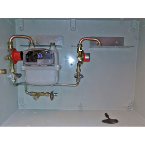 LPG 800mb 2-C Cu CABINET WITH INSPECTION HOLE