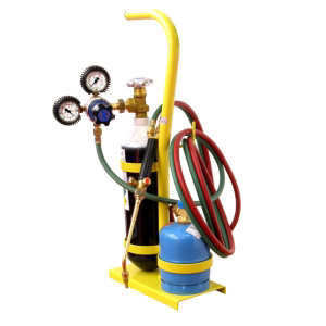 Mini equipment for oxy-butane / acetylene