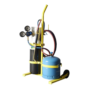 PORTABLE OXY-BUTANE WELDING EQUIPMENT