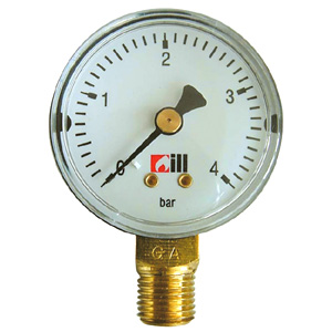 "ø 50 R1/4"" 2.5bar E MANOMETER"