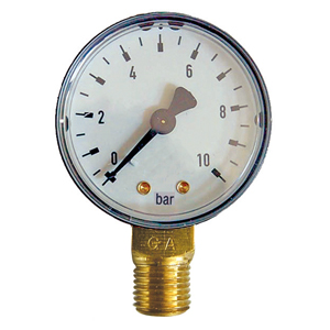 "ø 63 R1/4"" 10bar E MANOMETER"