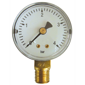 "ø 63 R1/4"" 4bar E MANOMETER"