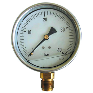 "ø 100 R1/2"" 1.6bar GLYC. MANOMETER"